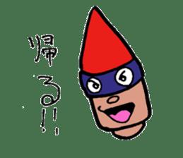 Phantom Fumetsusagao sticker #4763366