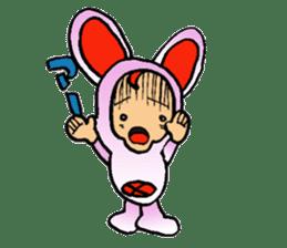 Phantom Fumetsusagao sticker #4763367