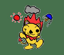 Phantom Fumetsusagao sticker #4763376