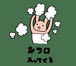 The slender rabbit sticker #4763679