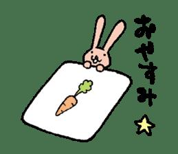 The slender rabbit sticker #4763686