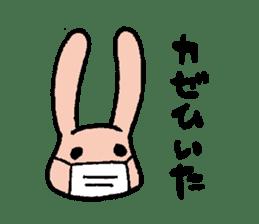 The slender rabbit sticker #4763699