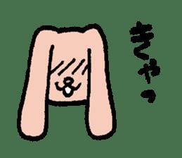 The slender rabbit sticker #4763700