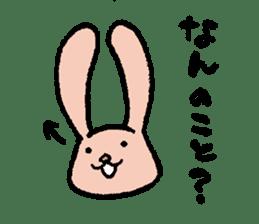 The slender rabbit sticker #4763702