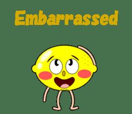 Conversation with lemon English sticker #4764274