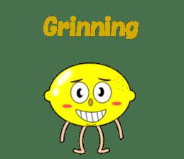 Conversation with lemon English sticker #4764296