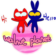 Happy felice's walnut planet's baby 3 sticker #4765237
