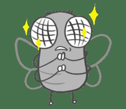 Poo Poo Housefly sticker #4765747