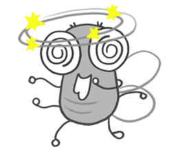 Poo Poo Housefly sticker #4765748