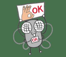 Poo Poo Housefly sticker #4765749