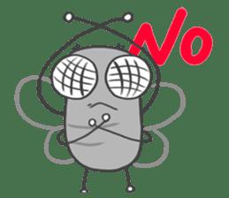 Poo Poo Housefly sticker #4765750