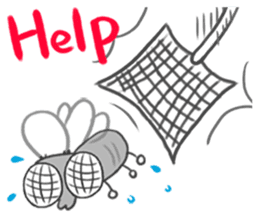 Poo Poo Housefly sticker #4765753