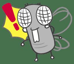 Poo Poo Housefly sticker #4765755