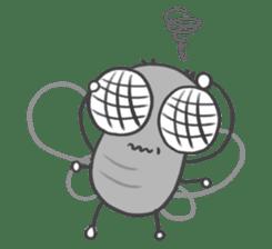 Poo Poo Housefly sticker #4765758