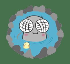 Poo Poo Housefly sticker #4765776