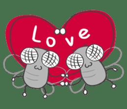 Poo Poo Housefly sticker #4765778