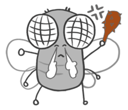 Poo Poo Housefly sticker #4765782