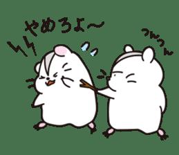 Kawaii hamsters sticker #4766784