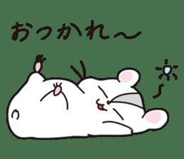 Kawaii hamsters sticker #4766788