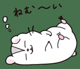 Kawaii hamsters sticker #4766789