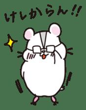 Kawaii hamsters sticker #4766790