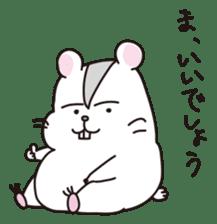 Kawaii hamsters sticker #4766791