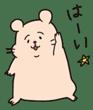 Kawaii hamsters sticker #4766792