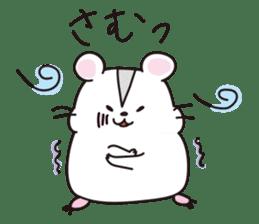 Kawaii hamsters sticker #4766805