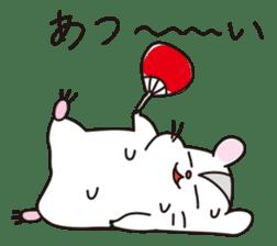 Kawaii hamsters sticker #4766806