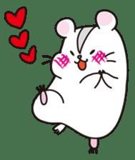 Kawaii hamsters sticker #4766809