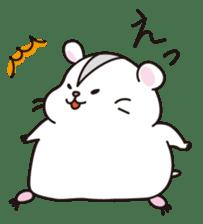 Kawaii hamsters sticker #4766815