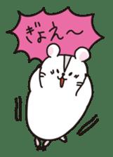 Kawaii hamsters sticker #4766817