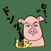 pig life sticker #4767154