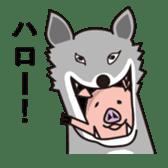 pig life sticker #4767155