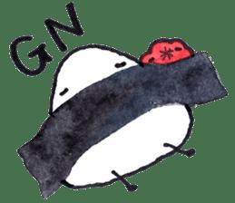 Onigirin English Edition sticker #4768586