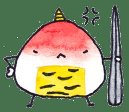 Onigirin English Edition sticker #4768590