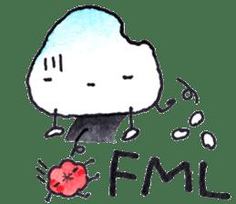 Onigirin English Edition sticker #4768598