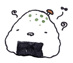 Onigirin English Edition sticker #4768606