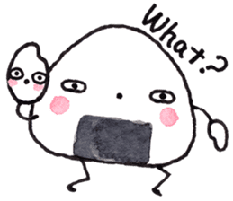 Onigirin English Edition sticker #4768616