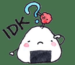 Onigirin English Edition sticker #4768619