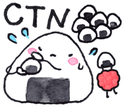 Onigirin English Edition sticker #4768622
