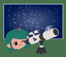 She Sees Star sticker #4768865