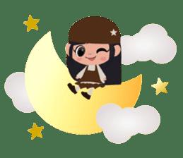 She Sees Star sticker #4768867