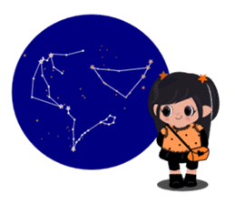 She Sees Star sticker #4768889