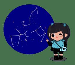 She Sees Star sticker #4768890