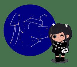 She Sees Star sticker #4768891