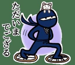 Ninja and cat sticker #4768907