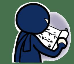 Ninja and cat sticker #4768933