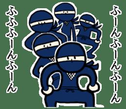 Ninja and cat sticker #4768936