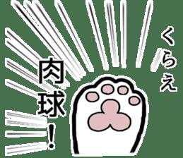 Ninja and cat sticker #4768940